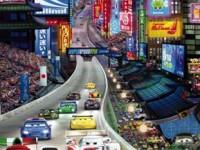 Fotomural 1-404 Cars Tokyo
