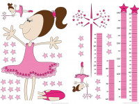 74100 - Wall Sticker Measuring Tape Fairy