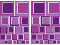 74104 - Wall Sticker Purple Squares
