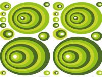 74105 - Wall Sticker Green Ovals