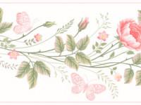 CEF001- Cenefa floral