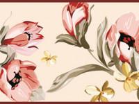 CEF017- Cenefa floral