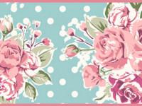 CEF003- Cenefa floral