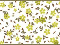 CEF009- Cenefa floral