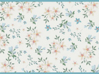 CEF010- Cenefa floral