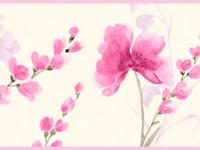 CEF011- Cenefa floral