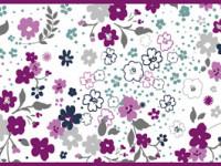 CEF014- Cenefa floral