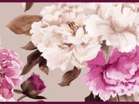 CEF015- Cenefa floral