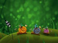 FT0106 - Fotomural Race on Snails