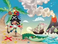 FT0155 - Fotomural Pirate