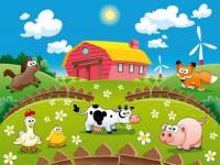 FT0160 - Fotomural Farm