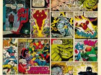 Fotomural Marvel L001