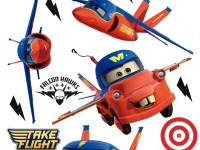 DK1702 - Sticker Disney Cars Flying