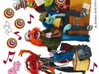 DK1704 - Sticker Disney Muppets