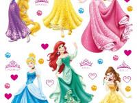 DK1706 - Sticker Disney Princess