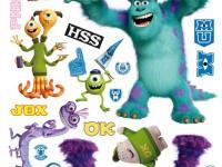 DK1709 - Sticker Disney Monters