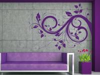 FL016- Vinilo Decorativo Floral