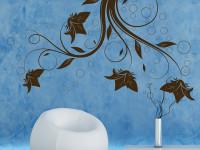 FL017- Vinilo Decorativo Floral