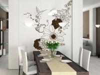 FL048- Vinilo Decorativo Floral